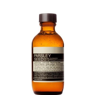 Aesop. Parsley Seed. Facial cleanser. 100ml
