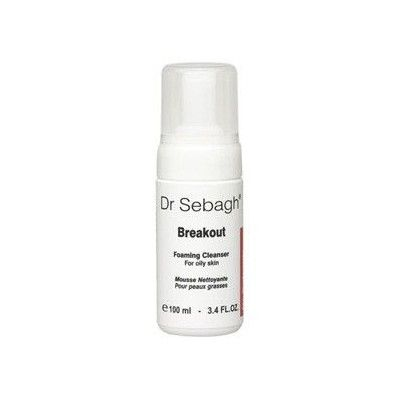Break-Out Foaming Cleanser. Dr Sebagh.
